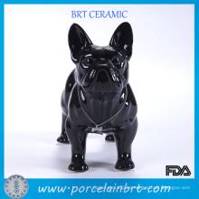 Bulldog Francés Resina Negra Mejor Amigo
