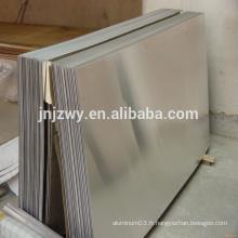 Chine, fabricant le plus professionnel 5083-O plaques en alliage d'aluminium