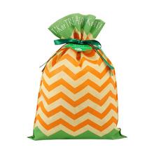 Orange Green Mixed Halloween Gift Packing Bag 30x45CM