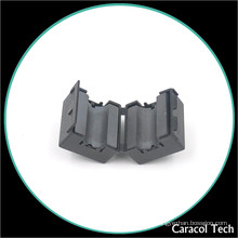 NiZn Soft Magnetic Cable Clamp Ferrite Core For EMI Noise Filter