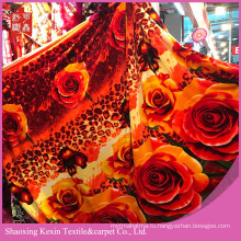 Дешевая цена супер мягкое одеяло Фланель флис
