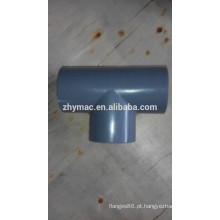 conexão tee plástico CPVC