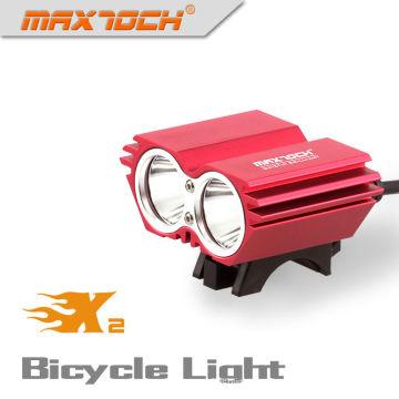 Maxtoch X2 2000LM Pack 4 * 18650 inteligente Smart LED bicicleta luz