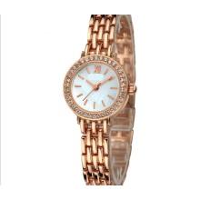 Relógio de presente de pulseira resistente à água de movimento de quartzo