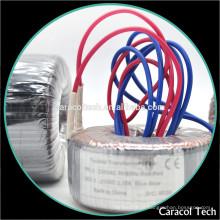 Transformador toroidal elétrico Step-Up Huzhou de baixa freqüência para amplificadores de áudio
