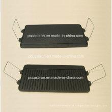 Pré-assados Ferro fundido Griddles Fabricante a partir de China