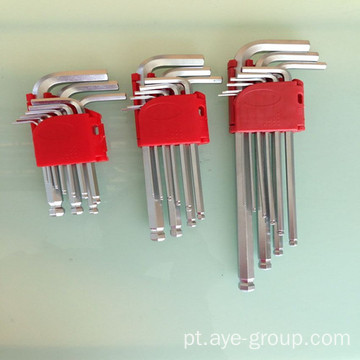 9pcs Ball Point HEX KEY Chaveira Allen Curta