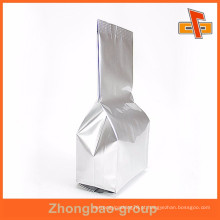 Stand up gusset lado sliver chá embalagens fábricas Guangzhou