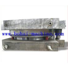 Molde de tapa superior e inferior para la fabricación de tambores de acero