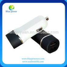 Alta calidad mejor precio 12-24v entrada 5v 2.4A / 4.8A salida 2 cargador de coche usb