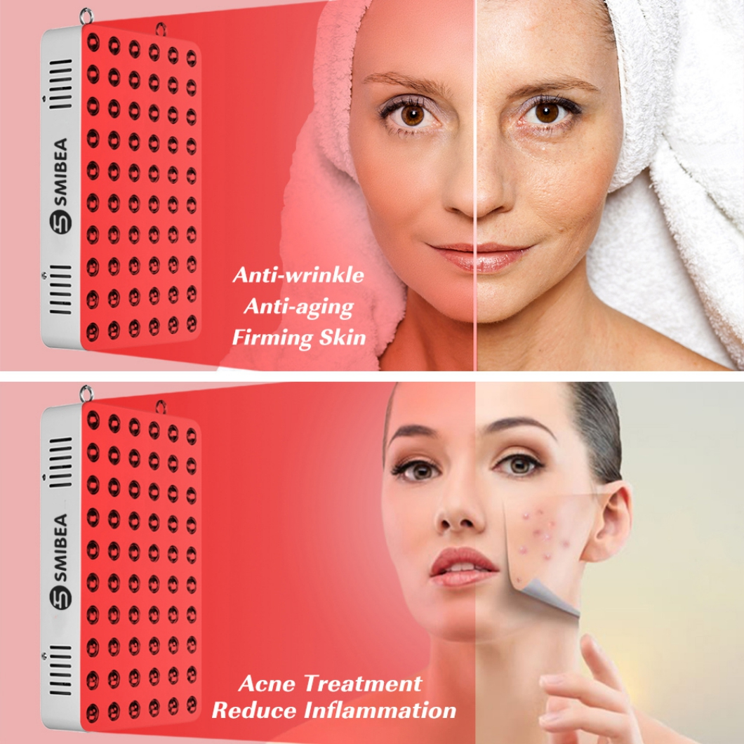 Light Therapy Facial Treatment With 2Switches