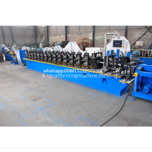 C Channel Roll formant la machine