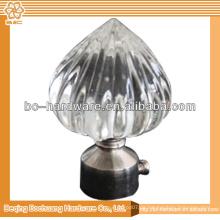 Kristall Vorhang Finials & Metall Vorhang Finials