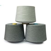 10% Cashmere 90% Fils de laine de merine Superfine pour tricot semi-peigné