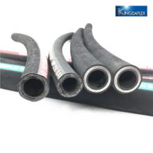 Flexible Wire Spiral Industrial Hydraulic Rubber Hose EN856 4SP/4SH