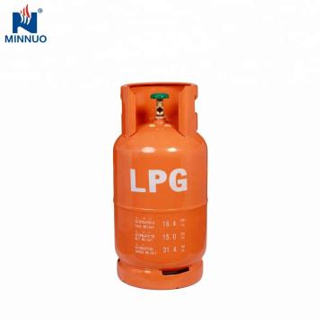 Kambodscha wettbewerbsfähige 15kg LPG Gasflasche mit gutem Preis