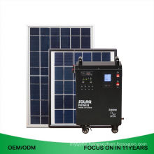 300W Rechargeable Solar Energy Ac Home Power Generator System 50W