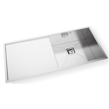 Undermount Stainless Steel Kitchen Sink with Drainer Board