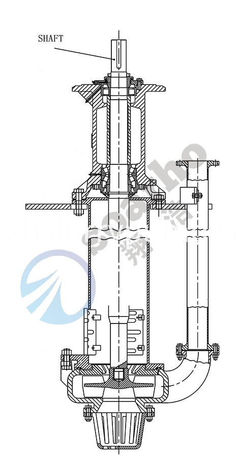 sump pump shaft