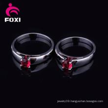 Fashion Women Single Gemstone Rings Designs