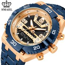 SMAEL Мужские часы из нержавеющей стали Top Luxury