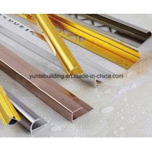 Perfil de alumínio para decoração de azulejos