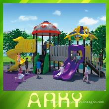 Équipement commercial de terrain de jeux en plastique pour enfants