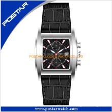 Fábrica reloj cronógrafo clásico para hombres mujeres