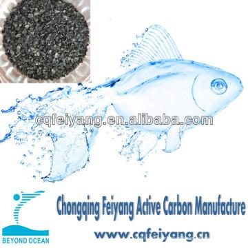 Carvão ativado de casca de coco para purificação de água