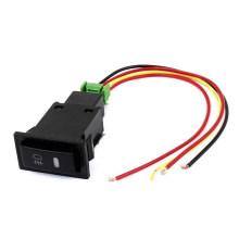 Toyota Druckschalter / Schwarz Pilot Lampe Nebelscheinwerfer Knopfschalter