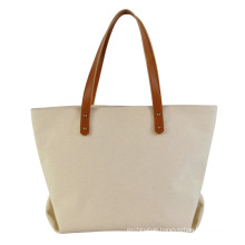 BSCI factory custom designed low MOQ eco- friendly canvas shopping bag reusable washable cotton tote bag