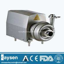 Sanitary centrifugal pump square cover close impeller