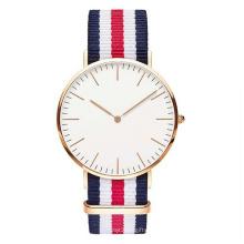 Relógio clássico de quartzo do Dw, relógio de aço inoxidável Hl-Bg-094 da forma