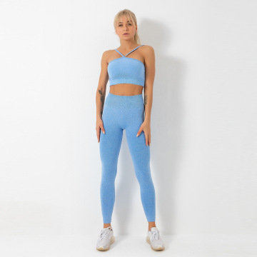 Set Yoga Seamless Vital Wanita