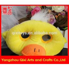Meilleure vente en peluche masque animal masque de canard mignon masque facial