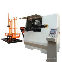 Máquina dobladora CNC para estribo de barra de acero