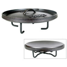 Camp Dutch Oven Reversible Lid Stand