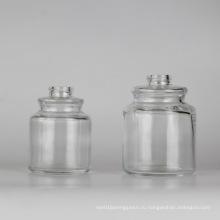 Стеклянная банка / парфюмерная бутылка / косметическая упаковка / косметическая бутылка
