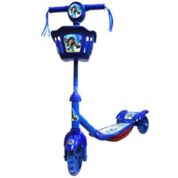 Blue Baby Scooter mit Unruh