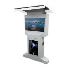 55/42 Doppelseitige freistehende LCD-Anzeige