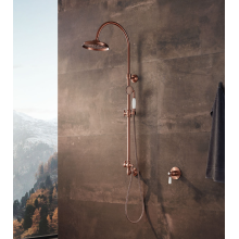 Retro shower column kit for hotel bathroom