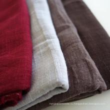 Мягкая бамбуковая льняная ткань 70% вискоза и 30% льняная