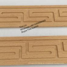 molduras de madera de haya tallada a mano sin pintar