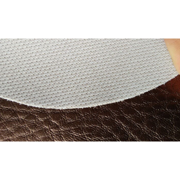 Litchi pattern pearlescent hotel decoration leather
