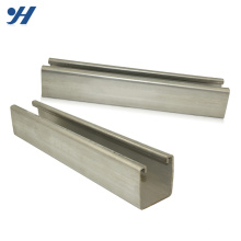 Slotted Galvanized Corrosion Resistance c profile steel c channel steel dimensions channel