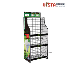 3+Shelf+Custom+Fold-up+Wire+Display+Shelving