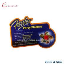 Высокое качество подгонять напечатан логотип Сцепляющий магнит холодильник оптом