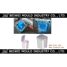 Molde de lata de lixo de injeção de plástico