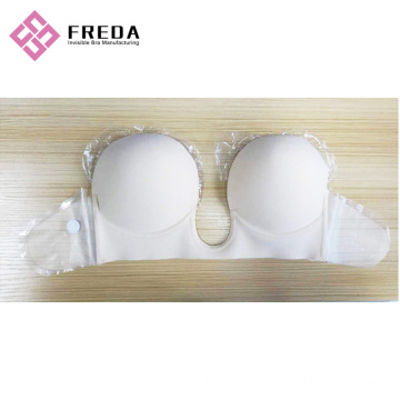 Fesyen Deep U Plunge Backless Strapless Bra