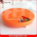 Plastic Round 7 Days Pill Box (KL-9065)